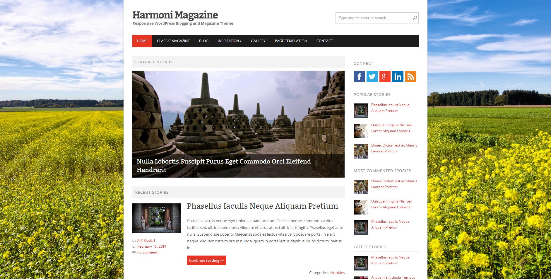 Harmoni theme