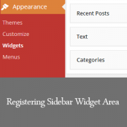 Registering-Sidebar-Widget-Area